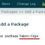 created-package