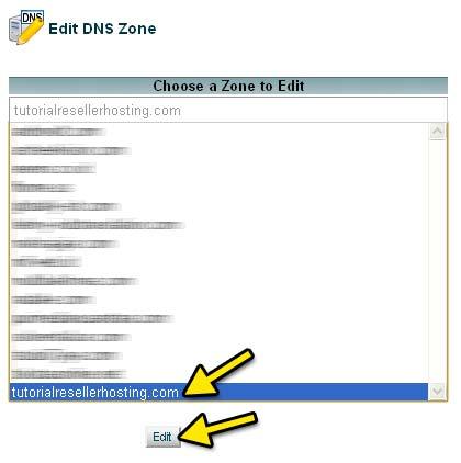 Setting Private NameServer Domain